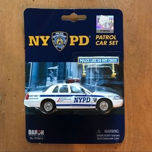 NYPD Patrol Car Set 🚔🚔🚔